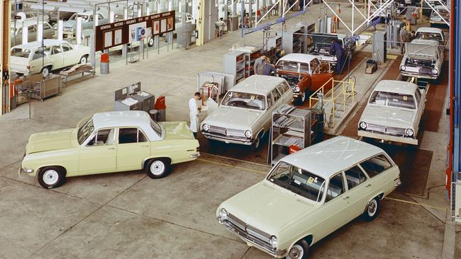 Holden began full car assembly at Elizabeth in 1965. Picture: Supplied.