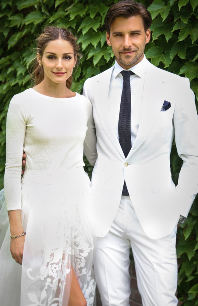 Palermo and Huebl shared this picture on her blog. Picture: oliviapalermo.com
