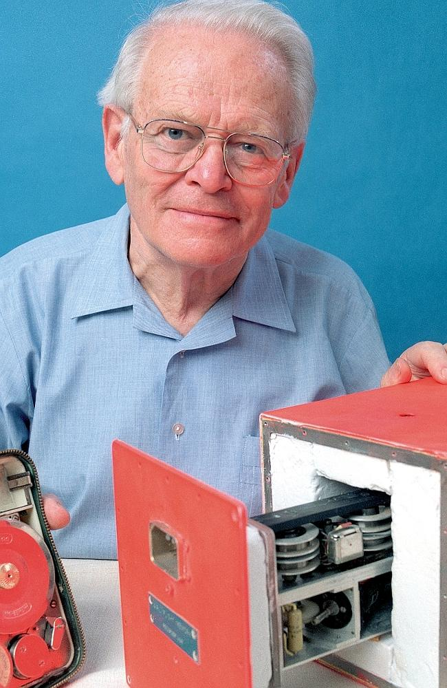 True visionary ... Dr David Warren, the inventor of the black box, had to fight for his cause.