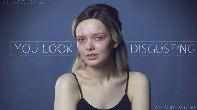Em Ford's You Look Disgusting video