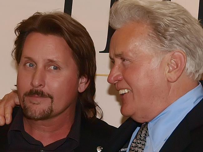 Emilio Estevez is the son of US actor Martin Sheen and brother of Charlie Sheen. Picture: AFP