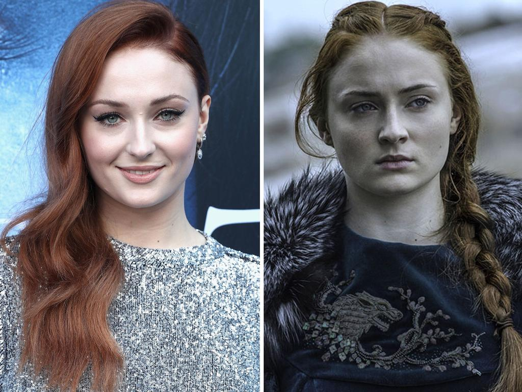 Sophie Turner as character Sansa Stark. Picture: Getty/HBO