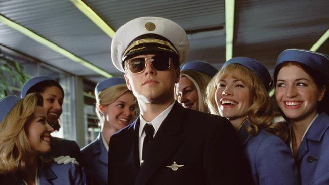 Wilson has been compared to Leonardo DiCaprio's character in Catch Me If You Can after he posed as an airline staffer.
