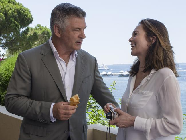 Alec Baldwin and Diane Lane in a scene from film Paris Can Wait.