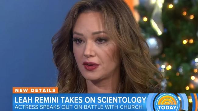 Leah Remini is a woman on a mission.