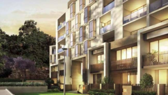 Artist impression of the proposed development at 55 Coonara Ave, West Pennant Hills.