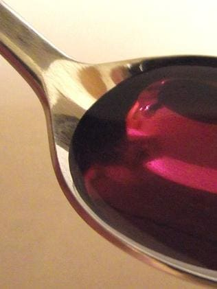 "The berry cough syrup's colour gives ""Purple Drank"" it's name."