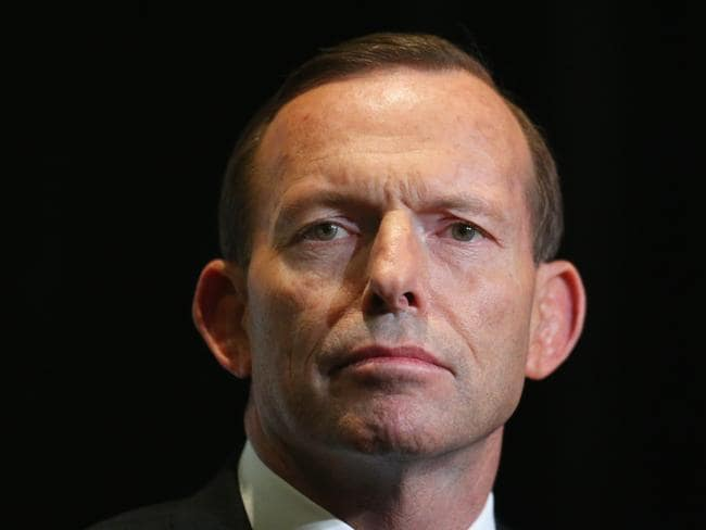 Struggling … Tony Abbott. Picture: Scott Barbour/Getty Images