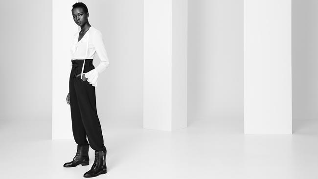 Model Yaya Deng is lending her support.