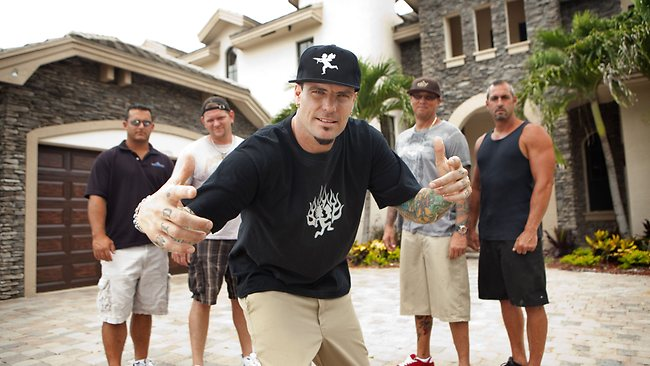 Vanilla Ice (aka Robert Van Winkle) hosts the Foxtel TV program The Vanilla Ice Project. Picture: Supplied