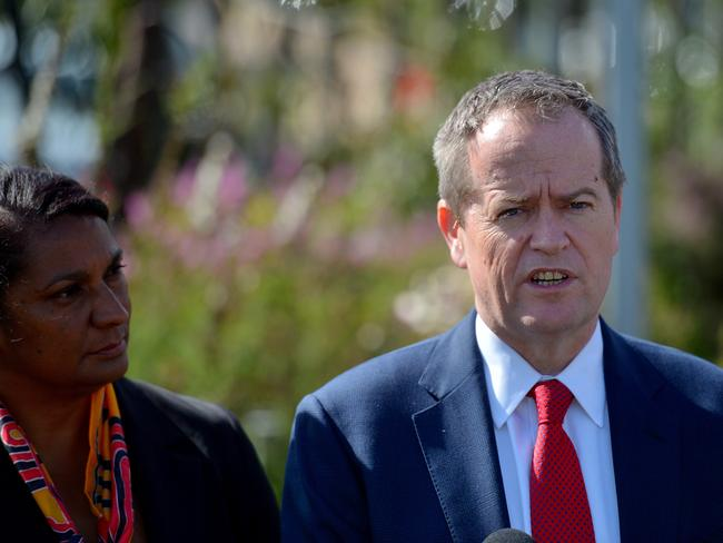 "Praise ... Labor Senator Nova Peris is an honest person and a ""great Australian"", says Bill Shorten."