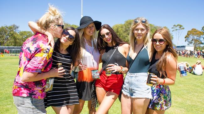 Thousands of music lovers have headed to Busselton for the Southbound Music Festival 2014. Picture: www.ThomasRoyPhotography.com