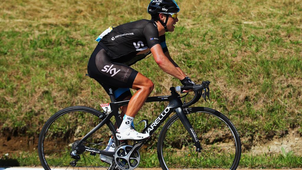 Why the bikes of the tour de france probably cost more for Richie porte cyclist