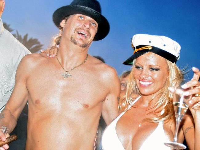 Mother lover ... Kid Rock reportedly ditched Pamela Anderson after she criticised his mum.