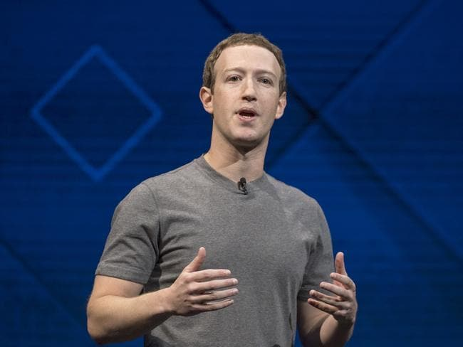 Calls are being made for Mark Zuckerberg to step down as CEO amid the company's latest scandal. Picture: David Paul Morris
