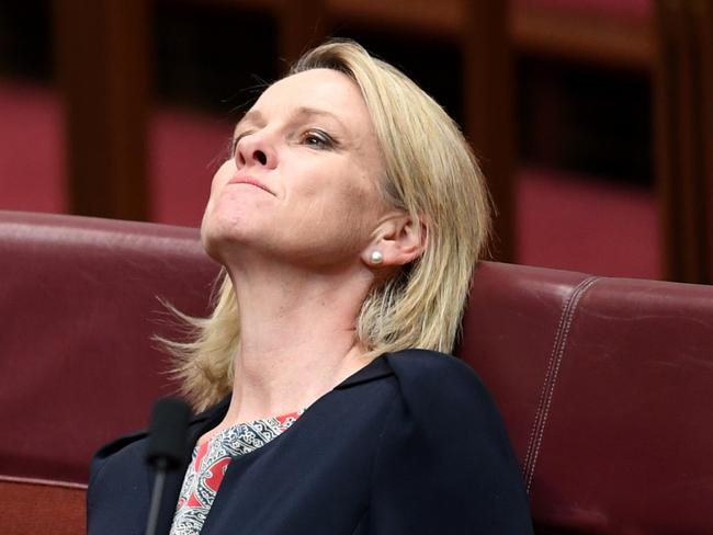 It's been a long week. Just ask Fiona Nash. Picture: AAP Image/Lukas Coch