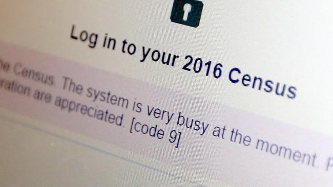 Census Australia 2016: IBM servers unable to cope with demand theory