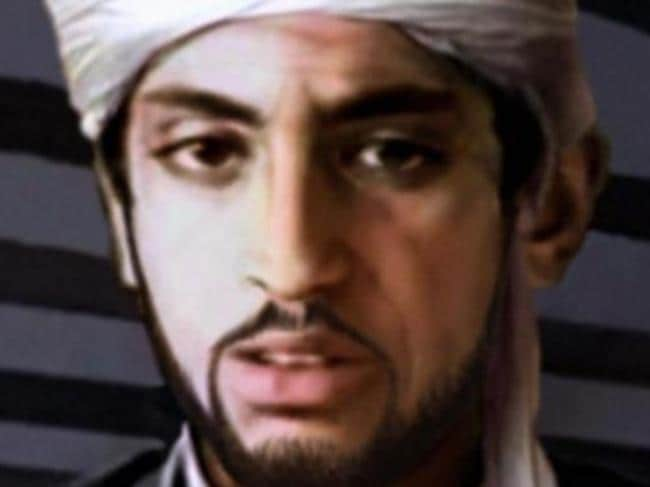 An artist impression of what Hamza bin Laden looks like now using age progression technology.