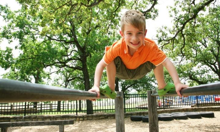 How to help your child become a ninja warrior