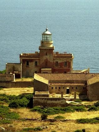 Faro Capo Spartivento (before) was the first lighthouse to receive a makeover. Picture: Italy state landlord