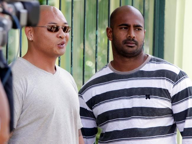 Waiting game ... Death-row prisoners Andrew Chan and Myuran Sukumaran are awaiting their execution date. Picture: Supplied.