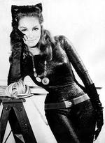 "<p>Actor Julie Newmar as Catwoman from TV program ""Batman.""</p>"