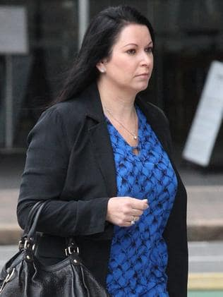 Nicole Bricknell outside court last year.