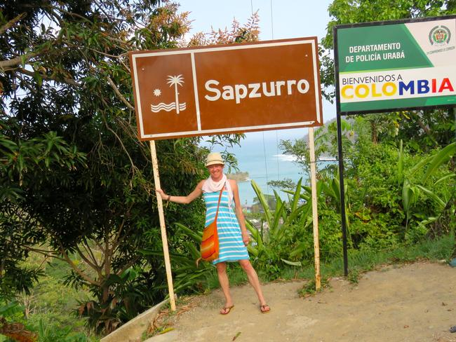 Sally Watson spent one day in the Darien Gap, and it was more than enough.  <i>Picture: Sally Watson</i>