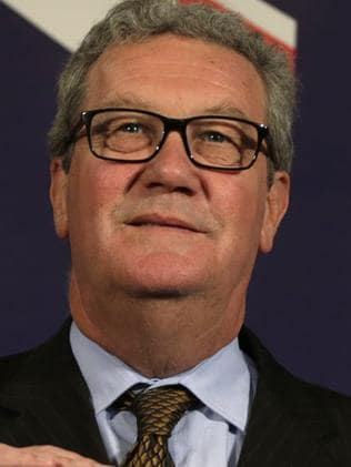 Australian High Commissioner Alexander Downer, left, passed on information to the FBI. Picture: AP