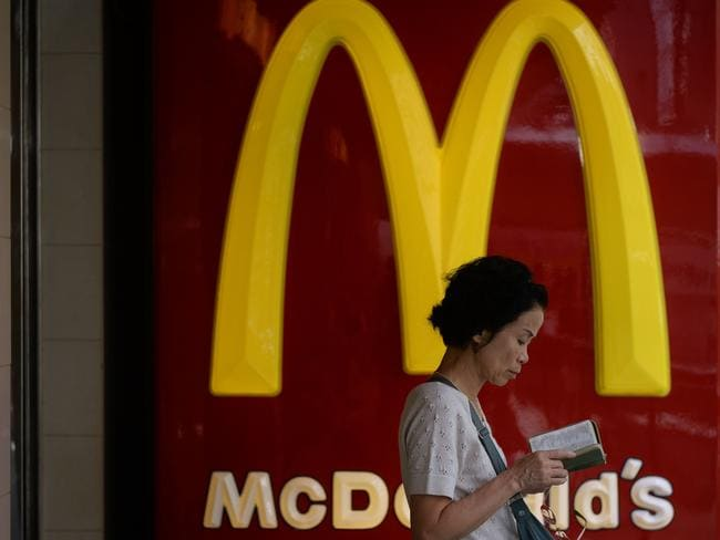 Ever wonder why Maccas is so red? Red makes you more hungry.