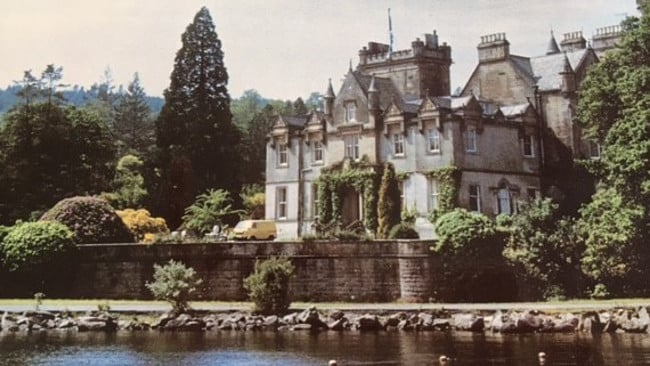 Beth Mathison once lived in this Scottish castle, before losing her business in the early 90s.