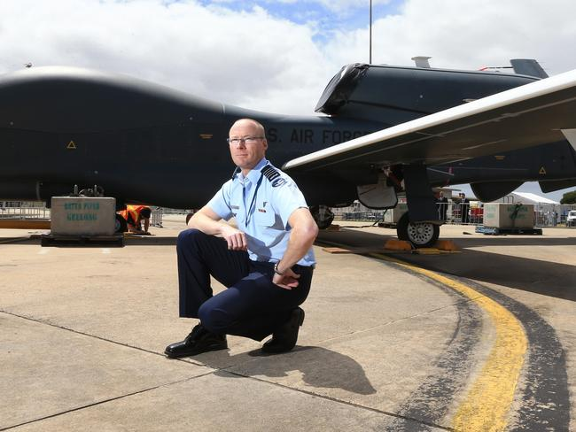 Divisive... 'Unmanned systems are here to stay and we shouldn't see that as a bad thing'.