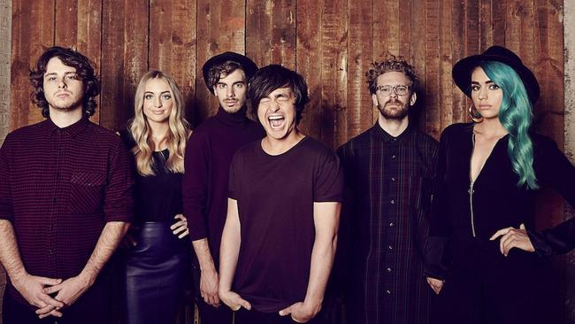 Brisbane band Sheppard are making waves internationally with their hit Geronimo.