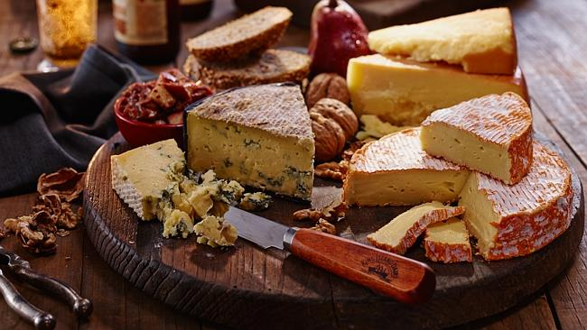 Cheese platters are great to serve with drinks at the beginning of the evening.