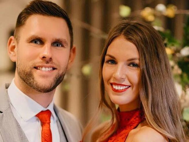 Stuart Hill and Becky Dobson were killed in a helicopter crash in the Grand Canyon over the weekend. Picture: Facebook