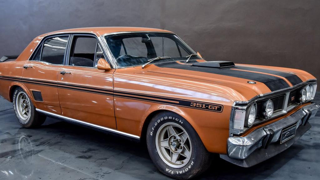 Ford And Ford Auction >> Ford Falcon 1971 GTHO Phase III will be auctioned off next weekend with a price tag of more than ...