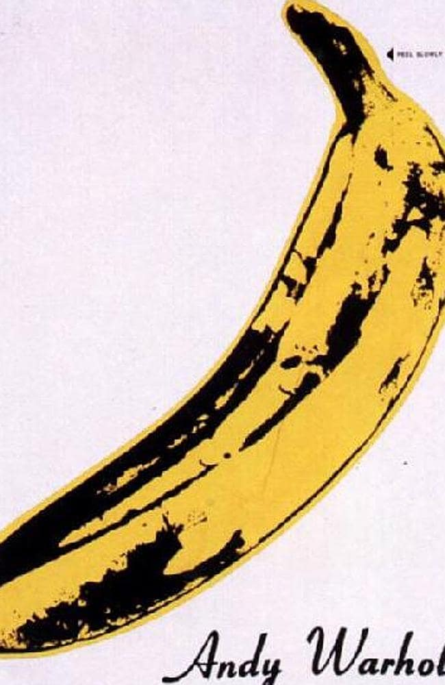 Later, the Warhol Foundation and the Velvet Underground had a massive legal fight over this iconic banana. Picture: Supplied