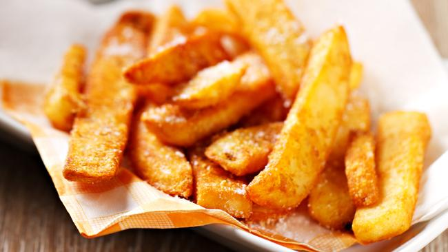 Acrylamide A new campaign tells people how they can cut their risk, including opting for a gold colour — rather than darker brown — when frying, roasting, baking, grilling or toasting.