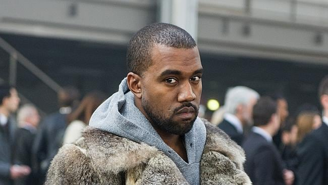 Kanye West: fierce shopping diva. Picture: AP Photo