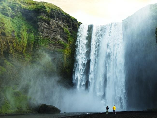 Iceland is spectacular, but either keep your eyes on the road or pull over. Picture: Cruise Express