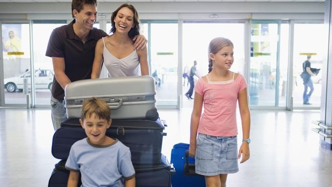 A family of four would be faced with a $240 Passenger Movement Charge. Picture: Thinkstock