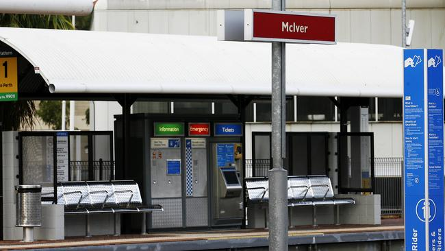 McIver train station in Perth's CBD, where Van Nguyen's body was found in 1989.