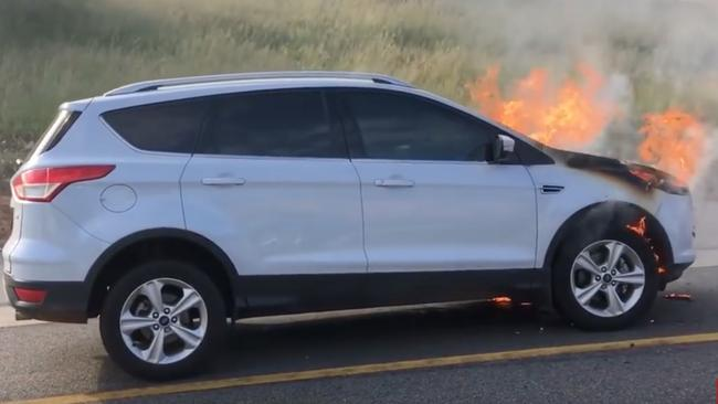 Ford is recalling the Kuga SUV and Fiesta ST hatchback in Australia after seven cars caught fire locally & Ford Australia recalls the Kuga SUV after fires under bonnet markmcfarlin.com