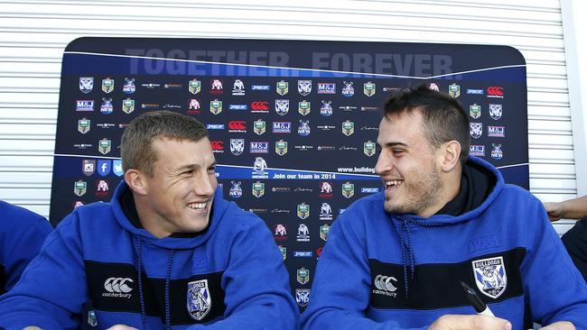 Trent Hodkinson and Josh Reynolds will be using their Origin experience to great effect once they return to the Bulldogs.
