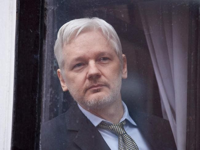 Julian Assange had overstayed his welcome at the embassy and should leave, Ecuadorean presidential candidate Guillermo Lasso said. Picture: AFP