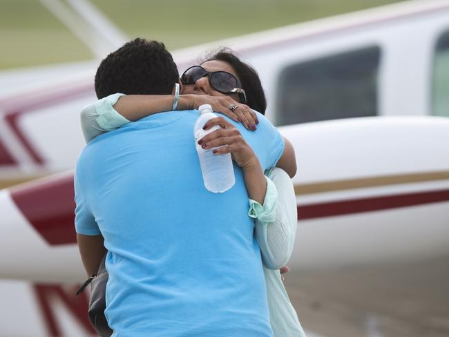 Mother and wife, Shamim Babar, says goodbye before ill-fated around-the-world attempt.