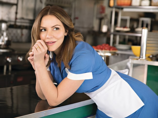 Katharine McPhee stars in Waitress. Photo: Supplied