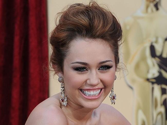 Remember Miley Cyrus when she was all innocent and cute?