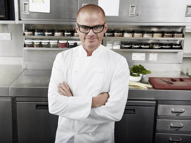 British celebrity chef Heston Blumenthal.