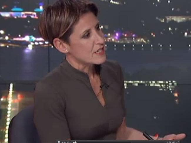 Emma Alberici kicked off her Lateline interview with a confronting question. Picture: ABC